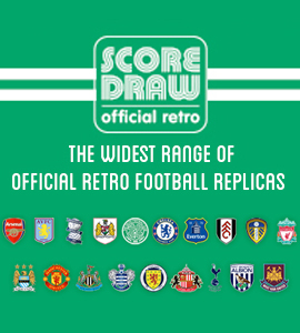 score draw retro football shirts for sale